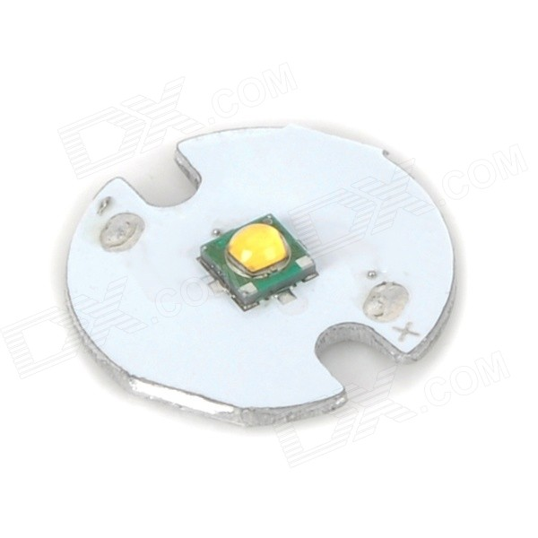 5W 380lm 3500K Warm White Light Board - White (DC 3.0~4.0V)