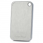PME PMC-300 Rechargeable 3000mAh Mobile Power Bank w/ USB for iPhone / BlackBerry / HTC - Silver