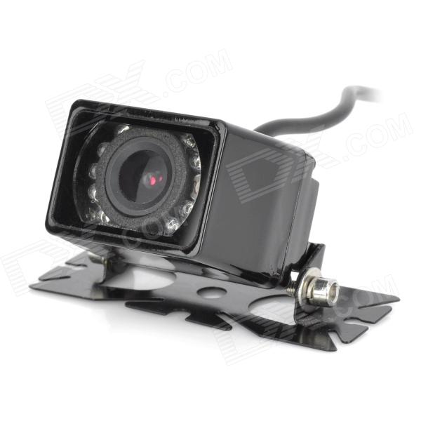 D1303 Universal Waterproof Car Rearview Camera w/ 9-IR LED Night Vision - Black (DC 8~12V)