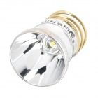 UltraFire CREE XR-E R2 340lm White Aluminum Smooth Drop-In Module - Silver + Golden
