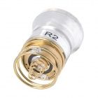 UltraFire CREE XR-E R2 340lm 5-Mode White Aluminum Smooth Reflector Drop-In Module - Silver + Golden