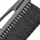 Car Vehicle Windshield Snow Brush with Detachable Ice Scraper - Black + Transparent
