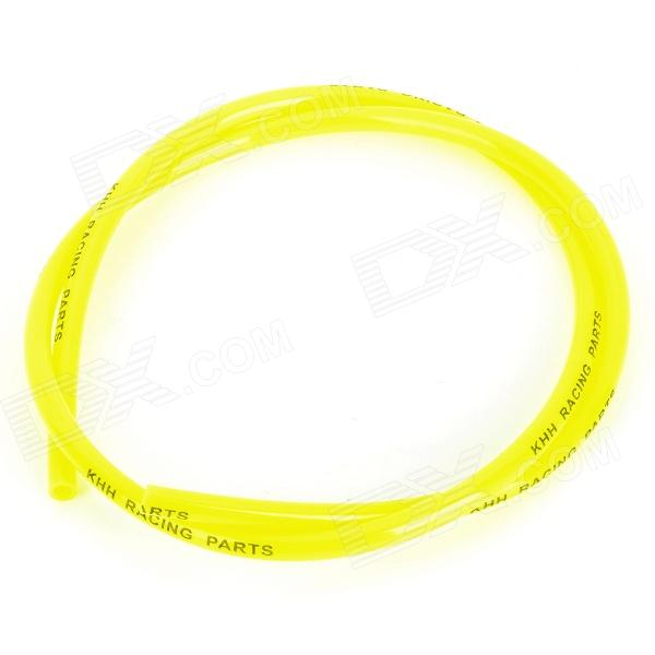 DIY Silicone Motorcycle Oil Tube - Yellow (100cm) yhc sh678a 12 universal motorcycle body