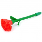 Novelty Carnation Style Polymer Clay Flower Ballpoint Pen - Random Color (4 PCS)