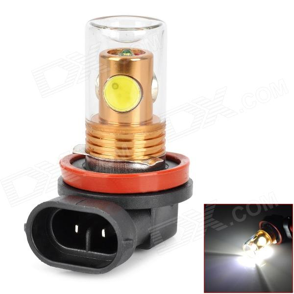 CL20121205-4 H8 9.5W 800lm 4-LED White Light Car Foglight capa w / Vidro - (DC 12 ~ 24V)