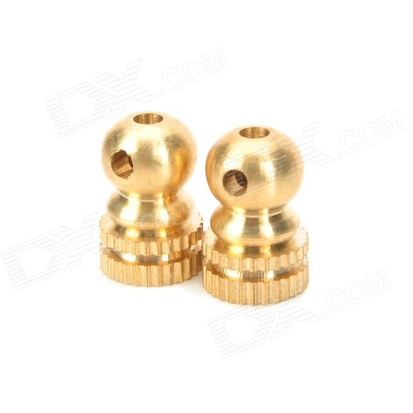 PJ10002 Brass Screws for Tattoo Machine - Golden (2 PCS)