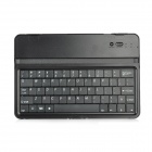 K61A Rechargeable Bluetooth V3.0 61-Key Wireless Keyboard for Ipad MINI - Black