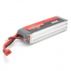 WILD SCORPION 11.1V 35C 3-Cell 5500mAh Li-ion Polymer Battery Pack for R/C Aircraft - Black + Silver