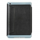 Protective Flip-Open PU Leather Case for Ipad MINI - Black