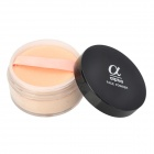 JD-123 05# Cosmetic Makeup SPF25 Loose Powder w/ Mirror / Puff - Beige (40g)