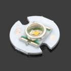 180lm Warm White Bulb Plate for Flashlight - White