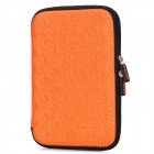 "Protective EVA + Nylon Sleeve Case Bag w/ Strap for Ipad MINI / 7"" Tablet PC - Orange + Black"