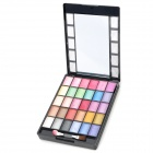 KB9093 (1#) Cosmetic Makeup Eyeshadow + Lip Gross + Blusher + Pressed Powder Set (50g)
