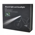 SL-8001 870lm 4-Mode White Hunting Headlamp Bicycle Light w/ Cree XM-L T6 - Black + Silver (4x18650)