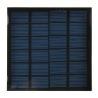 LX-B580 0.8W PET Laminated Solar Monocrystalline Silicon Cell Panel - Black + Blue