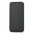 Protective Flip-Open PU Leather + Plastic Case for Iphone 5 - Black
