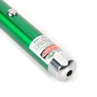 5mW 532nm Green Laser Pointer Pen - Green (2 x AAA)