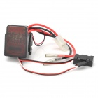 6V~16V 320A High Voltage Version Brushed ESC Speed Controller for R/C Car - Black + Silver