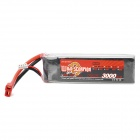 WILD SCORPION 11.1V 3000mAh 3 Cells Li-ion Polymer Battery for Model Airplane - Red + Black + Silver