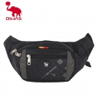 Oiwas 5328 Multifunction Casual Outdoor Waist Bag / Fanny Pack - Black