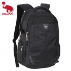 Oiwas 4099 Multi-function Water Resistant Notebook Backpack Bag - Black (37L)