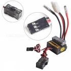 Dual Way 320A Brushed ESC Speed Controller for R/C Car - Black