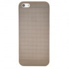 Ultra-Thin Breathable Mesh Style Protective Aluminum Alloy Case for Iphone 5 - Bronze