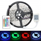JR-5050 Waterproof 72W 4500lm 625nm 300-LED RGB Decoration Light Strip w/ 2-Flat-Pin Plug (5m)