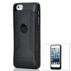 2200mAh Mobile External Power Battery Case for iPhone 5 - Black