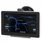 "BT-711 7"" Resistive Screen Bluetooth v2.0 GPS Navigator w/ AV-In / 128MB RAM / TF / Europe Map"