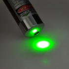 5mW 532nm Green Laser Pointer Pen - Dark Red (2 x AAA)