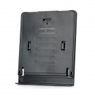 BJ-Z319 Portable Foldable 5-Level Plastic Stand Holder for Ipad + More - Black