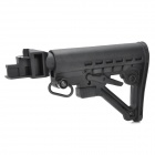 Nylon Plastic Butt Stock for AK Gun Series - Black