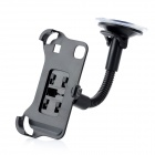 LSON 360 Degrees Car Mount Holder w/ Suction Cup for Samsung Galaxy S i9000 - Black