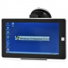 "7,0 ""LCD Windows CE 6.0 Core-GPS Navigator w / FM Transmitter + Internal 4GB Memory - Black (USA Karte)"