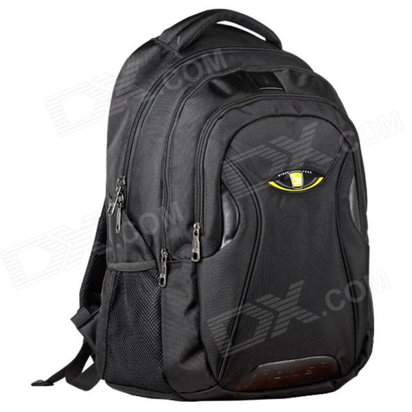Oiwas 4033 Water Resistant Outdoor Business Travel Polyester Laptop Backpack Bag - Black (32L)