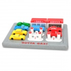POPULAR 70501 Brainteaser Outta Gas Puzzle - Multi-Colored