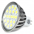 GU5.3 4W 300lm 6500K 20-5050 SMD LED White Light Spotlight (DC / AC 12V)