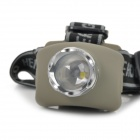 LED 80lm 3-Mode Zoom Lanterna - Earthy +Prata (3 x AAA)