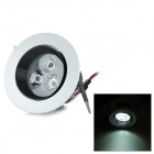 3W 180lm White LED Ceiling Lamp / Down Light with LED Driver (AC 86~265V)