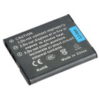 DSTE NP-BN1 1500mAh Battery for Sony TX66 TX300 W610 QX100 - Deep Grey