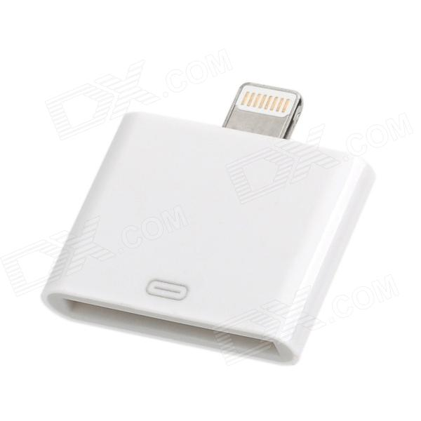 30-Pin Female to Lightning 8-Pin Male Adapter for Ipad MINI / Iphone 5 / Ipod Touch 5