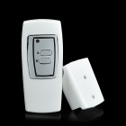 FK-922A 2-CH Family Use Digital Wireless Remote Control Switch - White