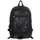 Oiwas 4001 Water Resistant Casual Nylon Outdoor Travel Backpack Bag - Black (32L)