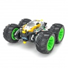 ZhengCheng 333-FG11B Rechargeable 5-CH Radio Control Stunt R/C Car w/ Music / Light - Yellow + White