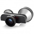 FMST 4-in-1 Fish eye + Marco + 5X Super Telephoto Lens + Front Camera for Iphone 5
