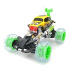 ZhengCheng 333-FD016 Rechargeable 4-CH Radio Control R/C Car w/ Music / Light - Black + Yellow