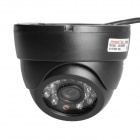 "JG-832MS 1/3"" CCD Wired Surveillance Security Camera w/ 24-IR LED Night Vision - Black (PAL)"