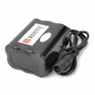 RUSTU Universal Rechargeable 4500mAh 6 x 18650 2-in-Series 3-in-Parallel Battery Pack for Headlamp