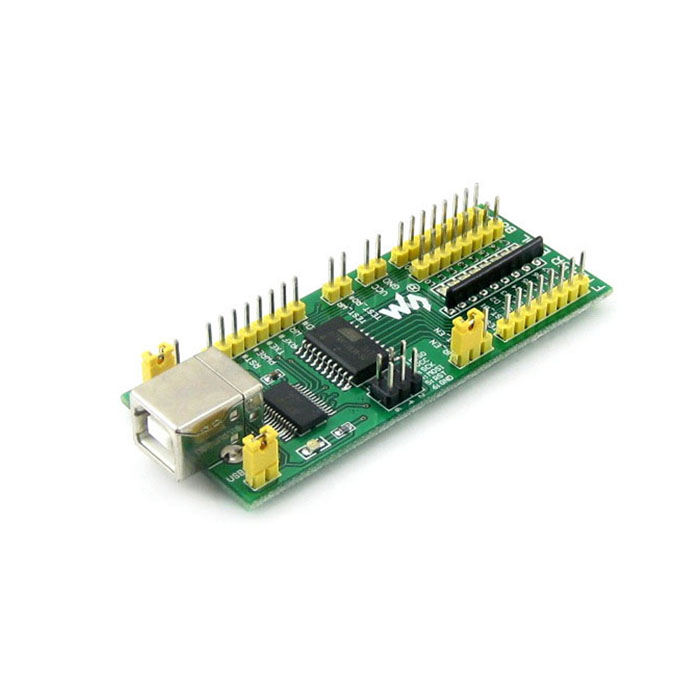 W1203 FR4 FT245 USB Développement / Evaluation Board - Vert